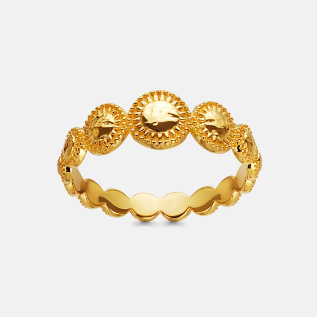 MAANESTEN TARA RING GOLD