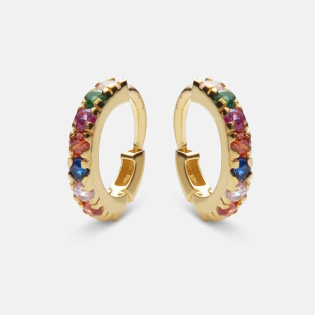 MAANESTEN Nubia Color Earring Gold
